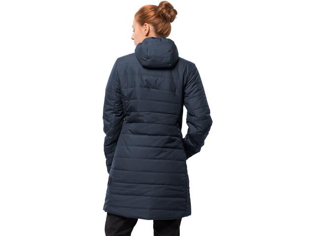 size 40 5b69b 5e7cd Jack Wolfskin Maryland Coat Damen midnight blue